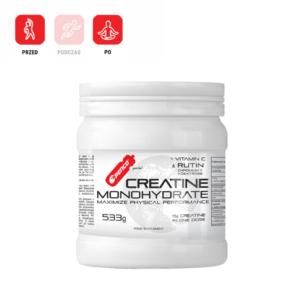 CREATINE MONOHYDRATE 533g monohydrat wspomagający wchłanianie kreatyny