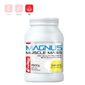 MAGNUS 1500g napój proteinowy na budowę masy mięśniowej dla sportowców