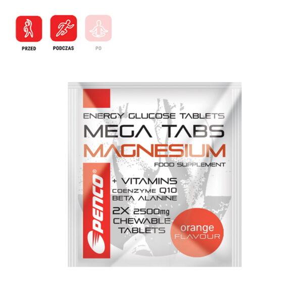 Tabletki glukozy z magnezem 2 sztuki