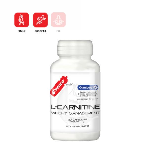 L-CARNITINE 120 kapsułek czystej l-karnityny dla sportowców