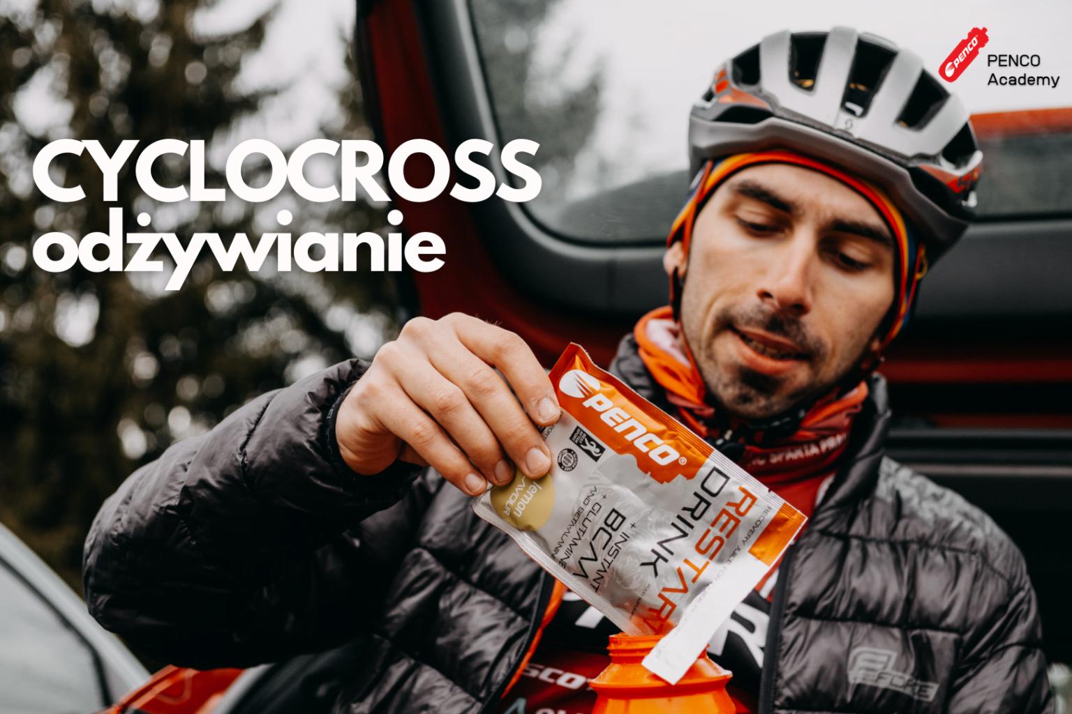 Jak przygotować się do wyścigu cyclocross, gdzie nie ma czasu na jedzenie i picie?